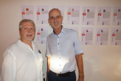 Axel Sperl und Botschaftssekretär der deutschen Botschaft in Kuba