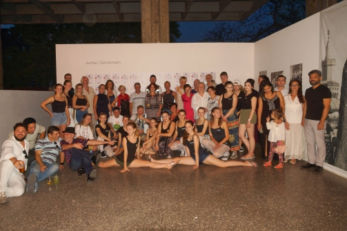Künstler Ausstellung juntos-arte-gemeinsam
